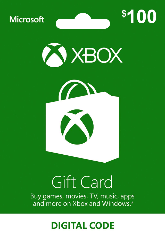 Get the Xbox Gift Card