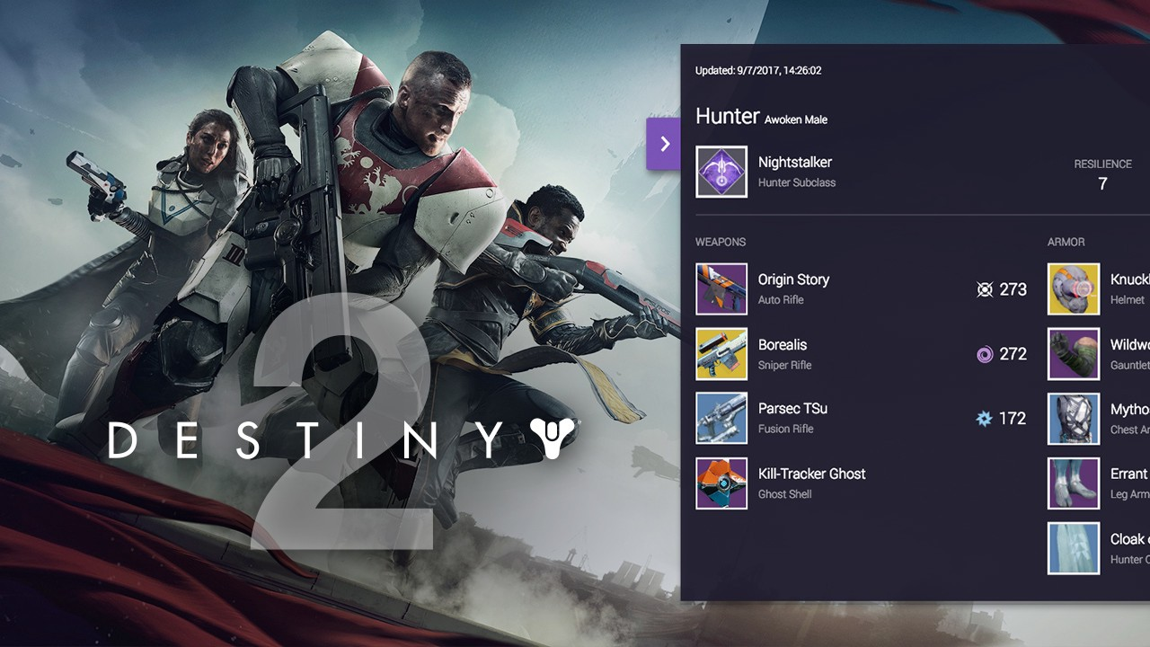 Show what your Guardian is made of with the Destiny 2 Armory