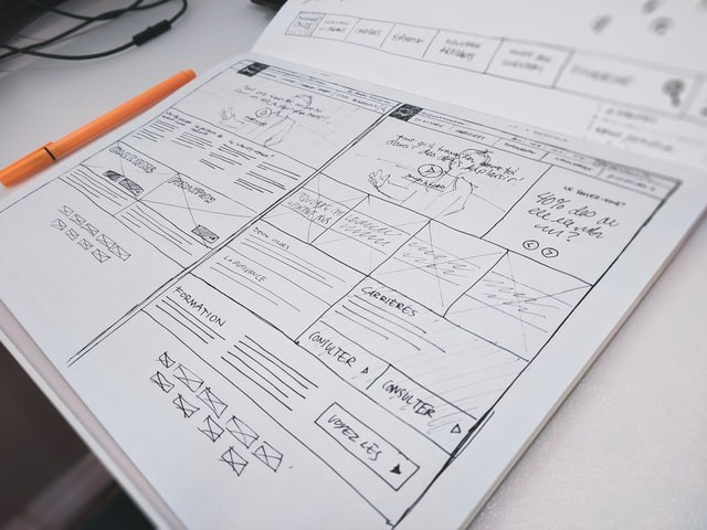 Draw Sketch for design web pages—amisiy