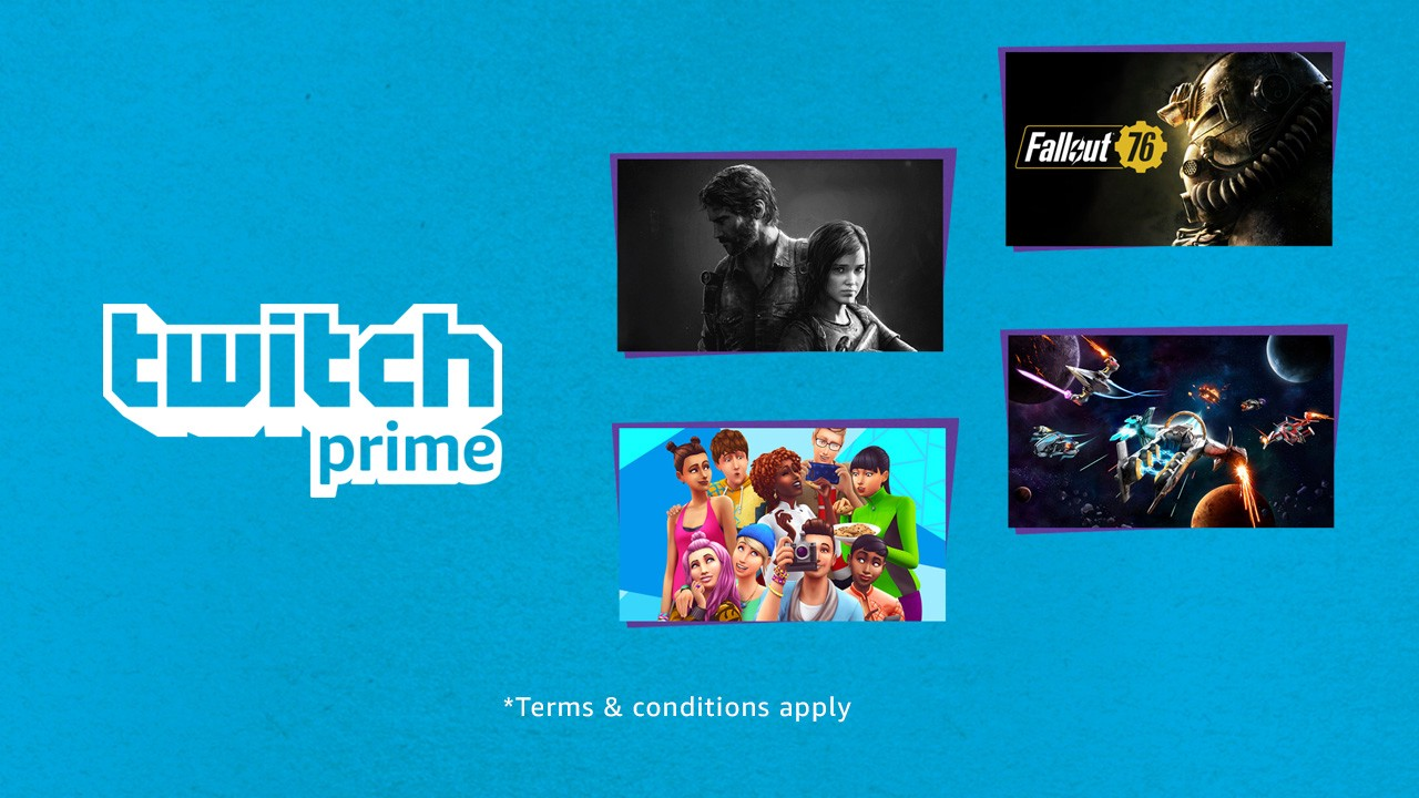Twitch Prime members in the US: Select a Game for $14 99