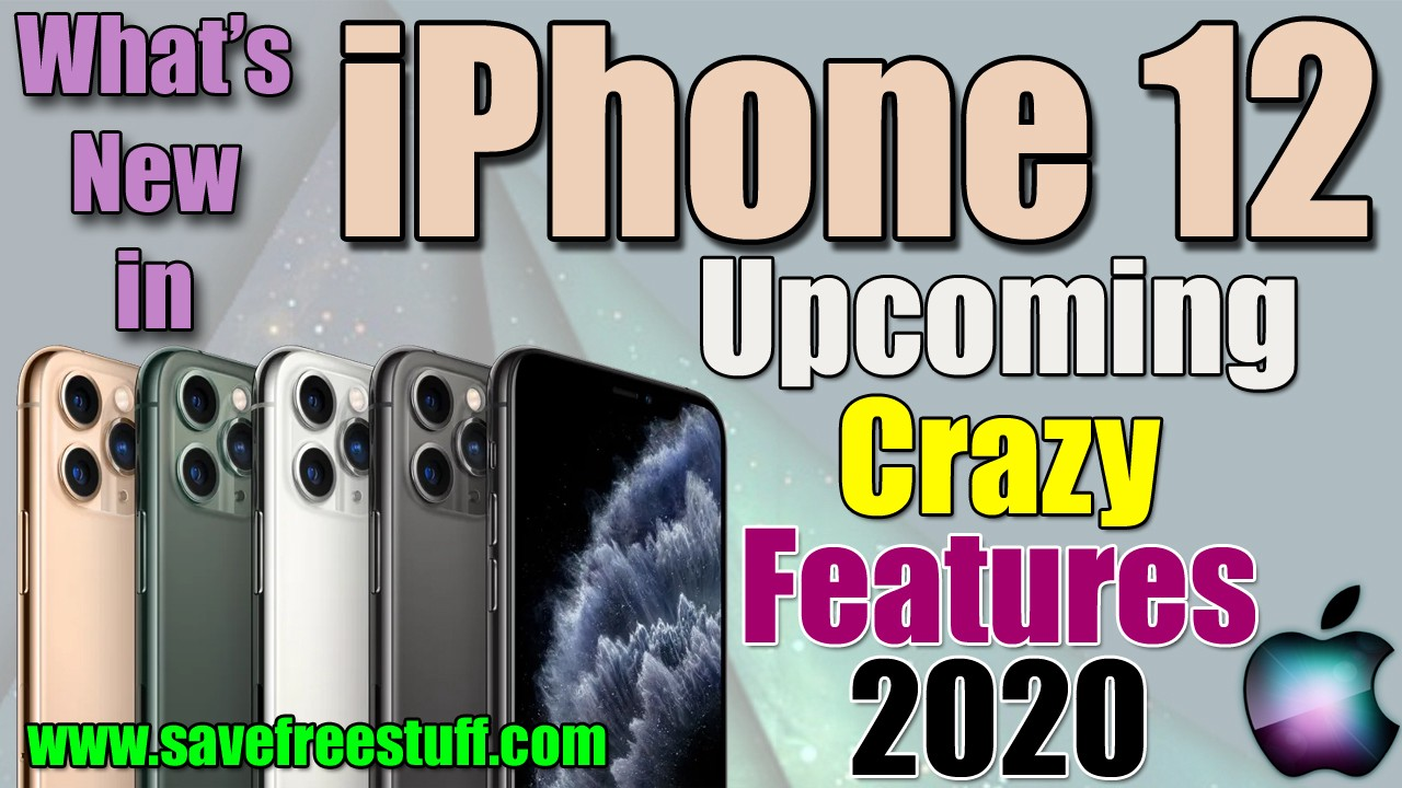 iPhone 12 Leaks 2020