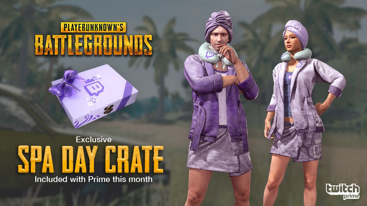 Twitch Prime Members, Relax on the Battlegrounds with a PUBG