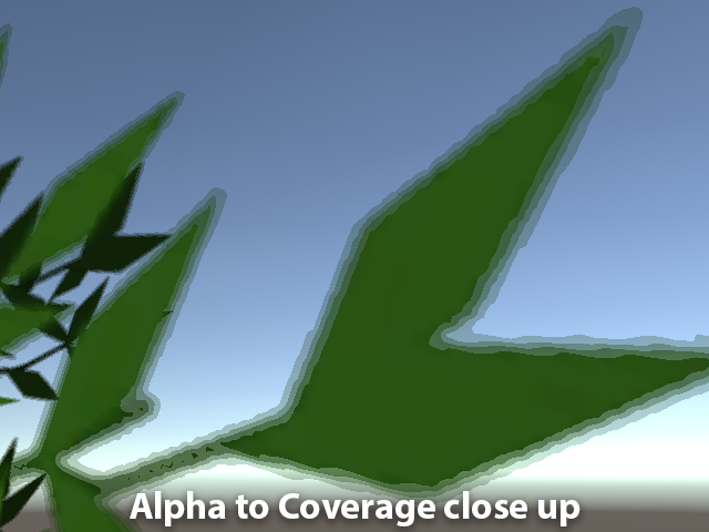 Anti-aliased Alpha Test: The Esoteric Alpha To Coverage
