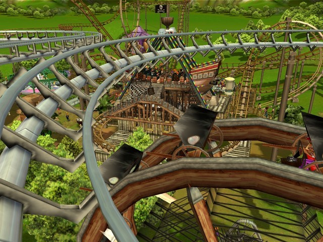 Roller Coaster Tycoon: Deterioration of a game series and the light