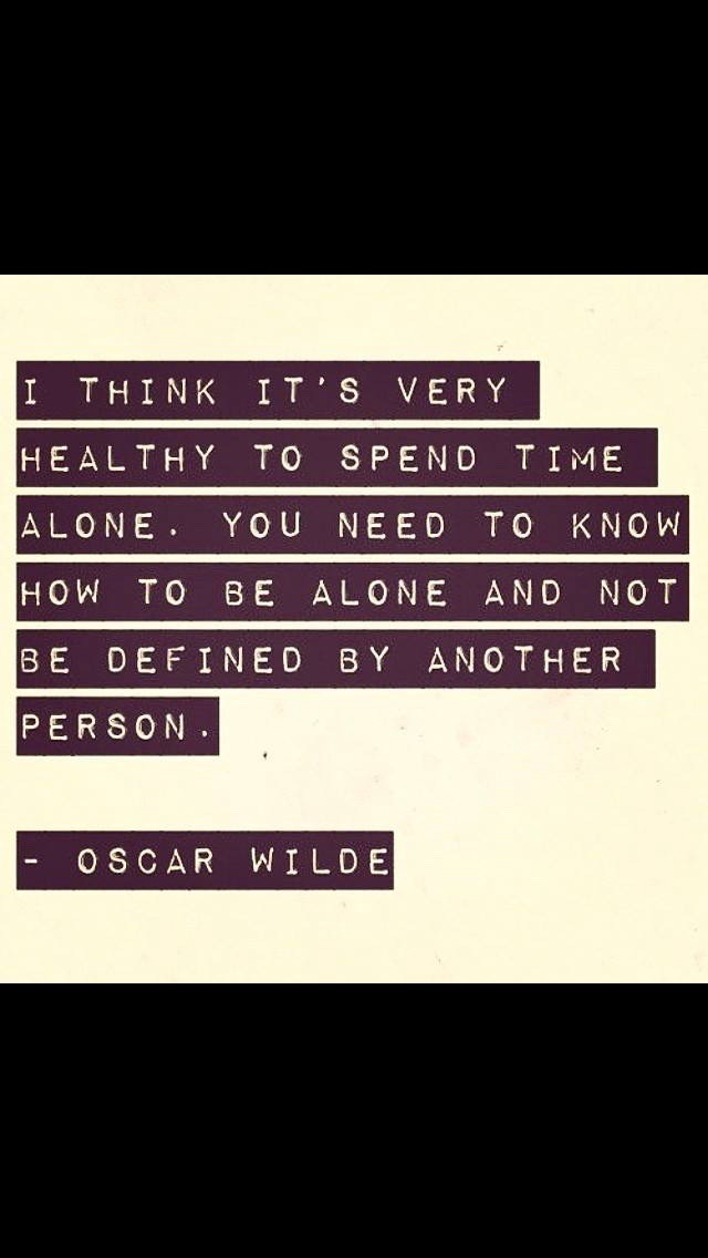 beigh background with highlited letters a quote from Oscar Wilde