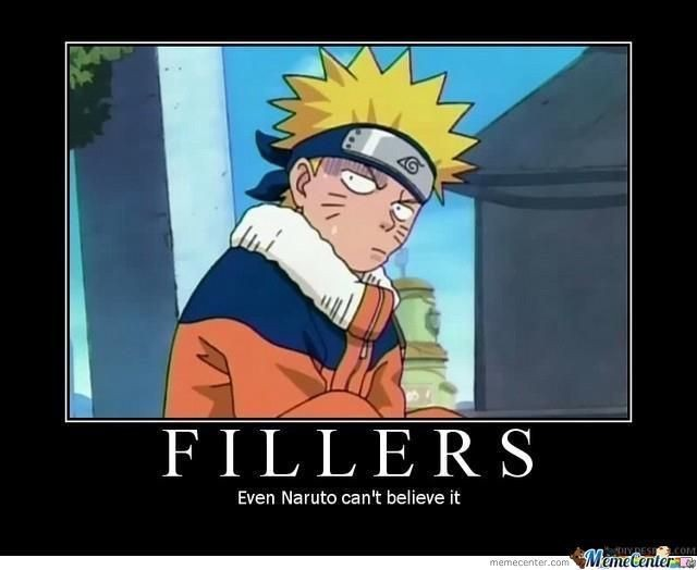 Naruto filler list and filler guides for all other anime ...