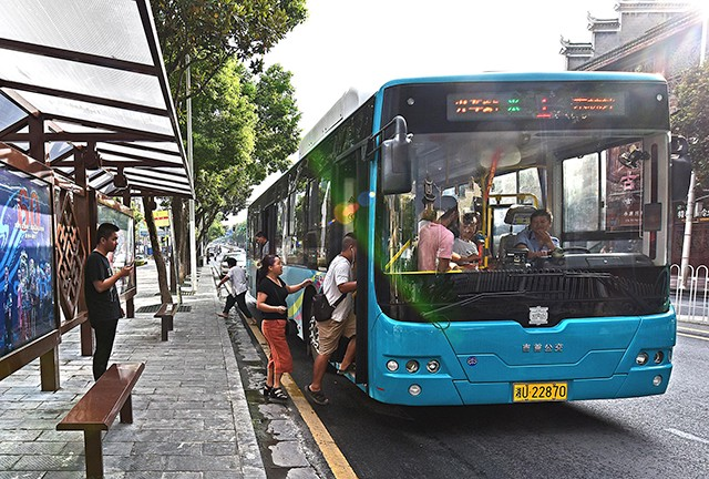 Electric bus in China