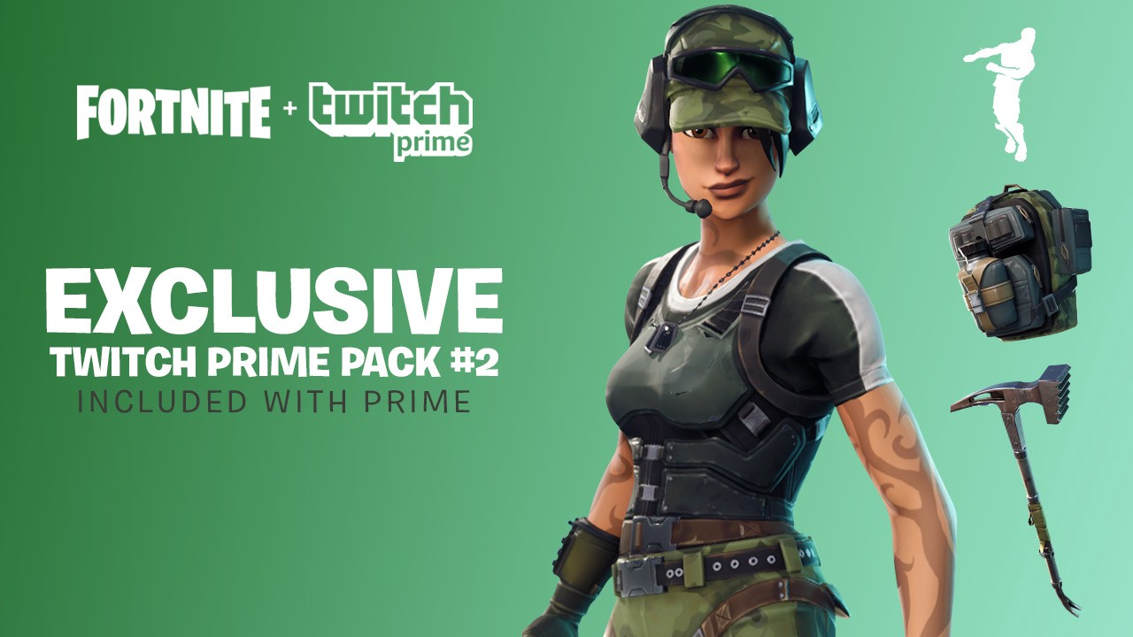Jump Into Fortnite With Twitch Prime Pack #2 - Twitch Blog