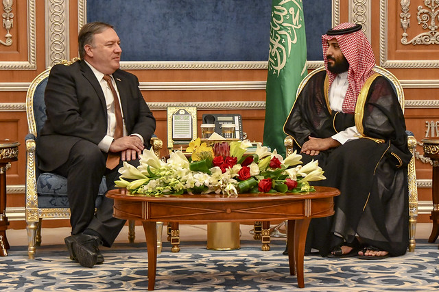 Secretary of State Mike Pompeo, Crown Prince Muhammad Bin Salman, Saudi Arabia, US Foreign Policy, US-Saudi Relations