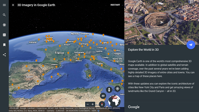 Imagery update for February 2019: What's new in Google Earth