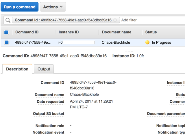 Chaos Engineering using Amazon EC2 Systems Manager - All things cloud