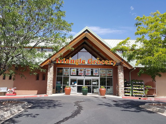 Triangle Grocery in Cedar Crest, New Mexico