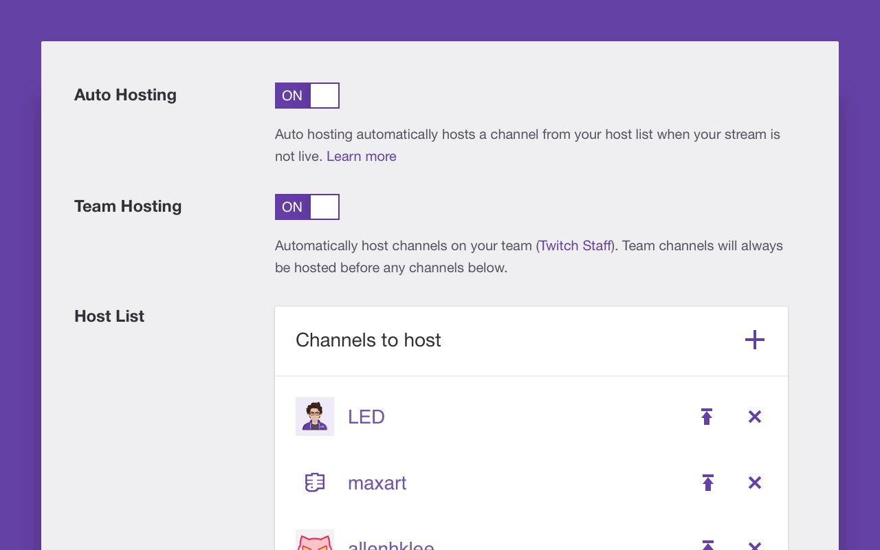 Grow your community with auto hosting - Twitch Blog