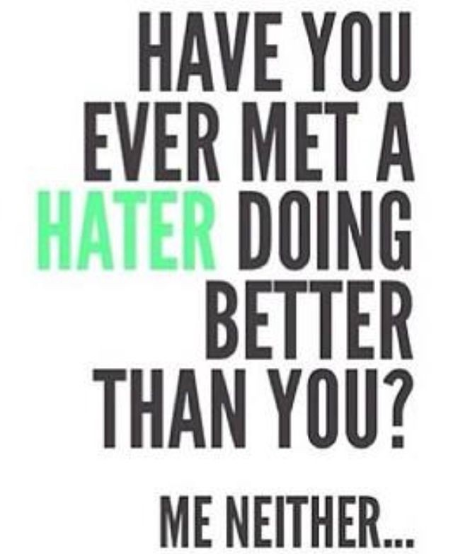 36 Things I Have Learned About Haters - ART + marketing