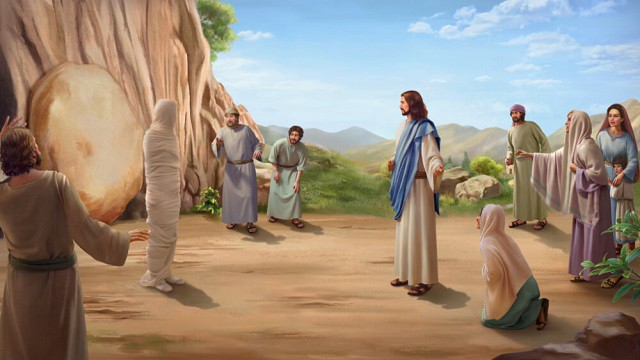 Lord-Jesus-bringing-Lazarus-back-from-the-dead
