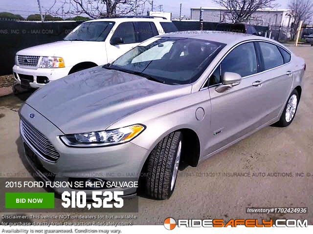 Fusion Auto Auction >> Shop For Used Salvage Ford Fusion From Online Auto Auctions