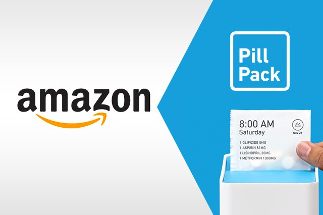 PillPack and Amazon Combined Graphic