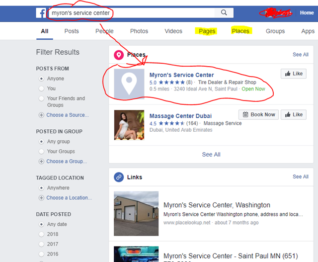 How To Find Your Business' Page on Facebook (Even If You Don