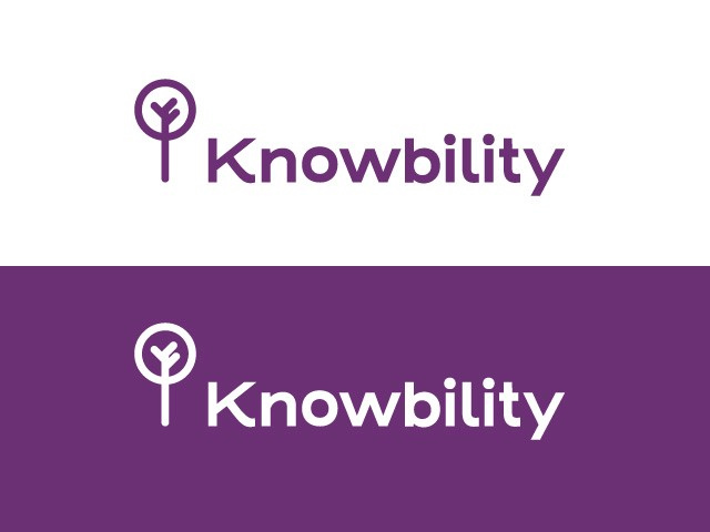 Knowbility's final revised logo