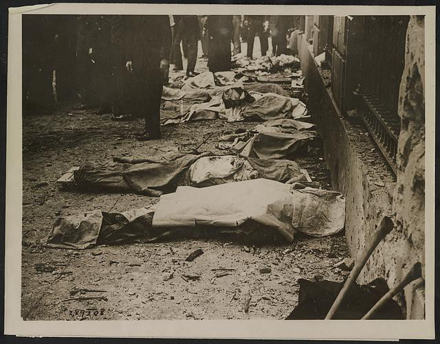 Victims of Wall St. Bombing (Public Domain: Library of Congress)