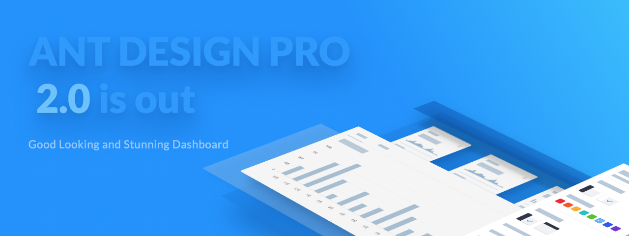 Beautiful and powerful dashboard: Ant Design Pro 2 0