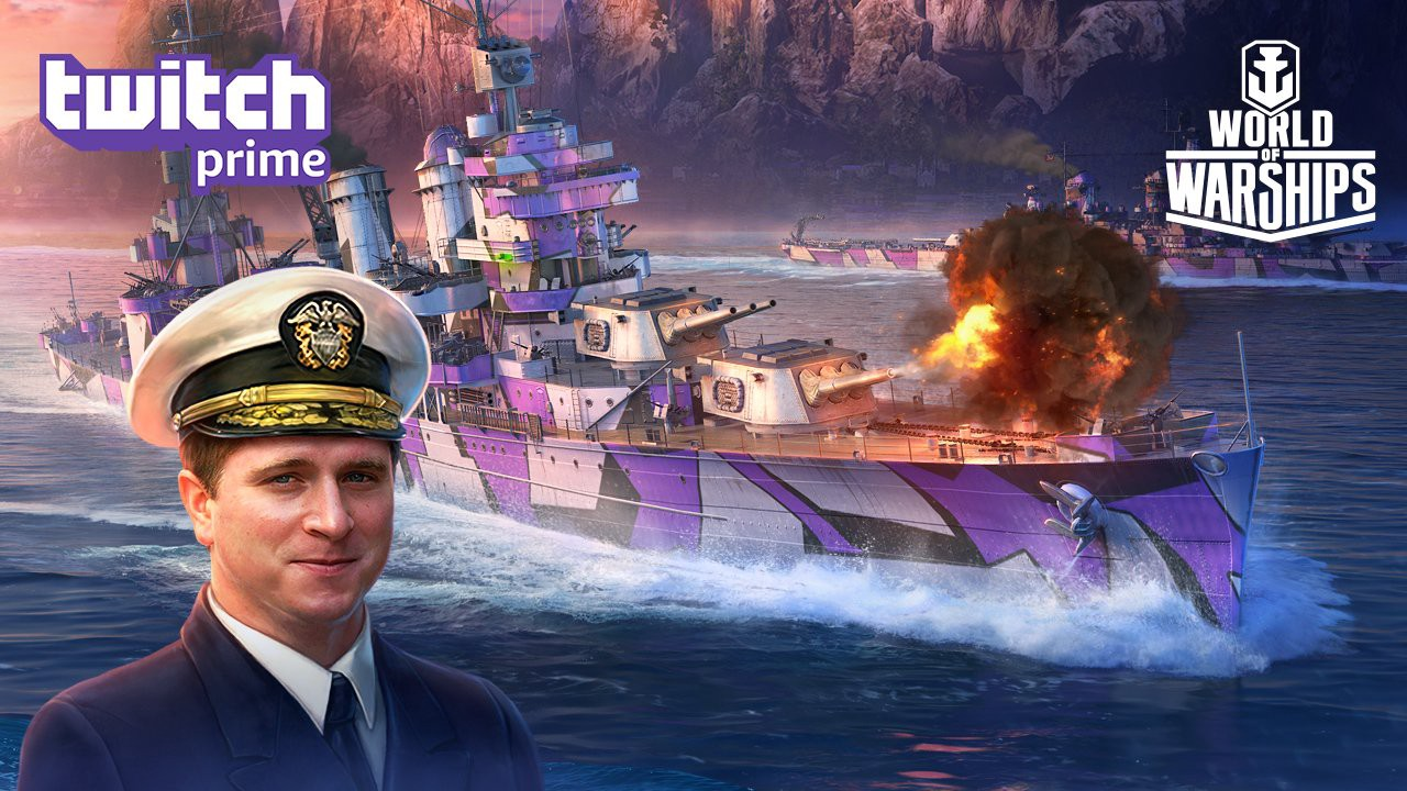 Twitch Prime Members! Get a Shipton of World of Warships