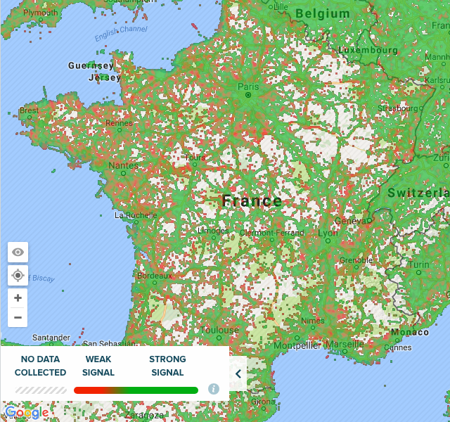 Map Of 4g Coverage France.Why Rail Operators Don T Need 4g For Remote Monitoring Or