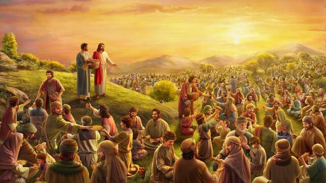 Lord-Jesus-used-five-loaves-and-two-fish-to-feed-five-thousand-people