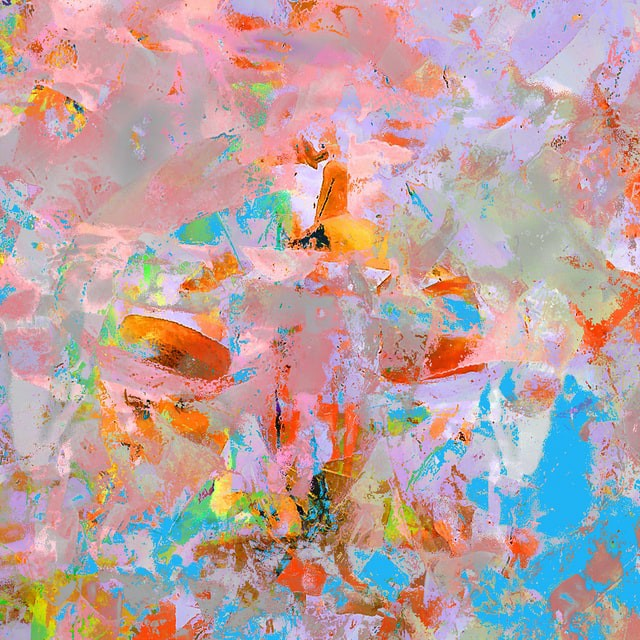 A piece of digital art that may be sold as an NFT on NFTs Marketplace
