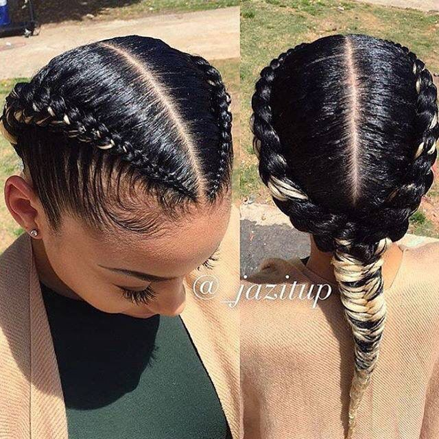 Do S And Don Ts For Protective Styling African American 4b Fine Type Hair By Samantha X Medium