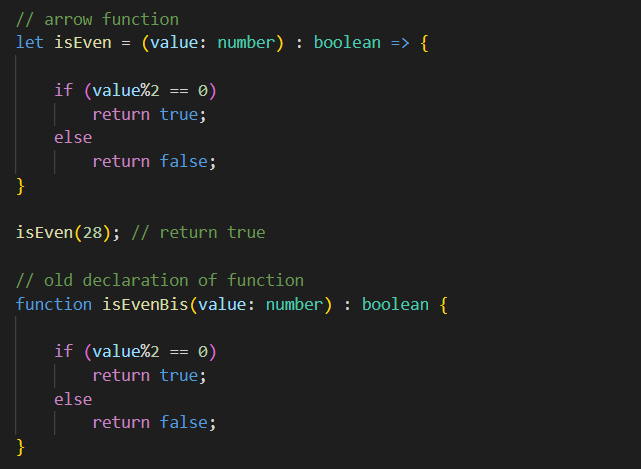Arrow function is called a lambda function in other languages.
