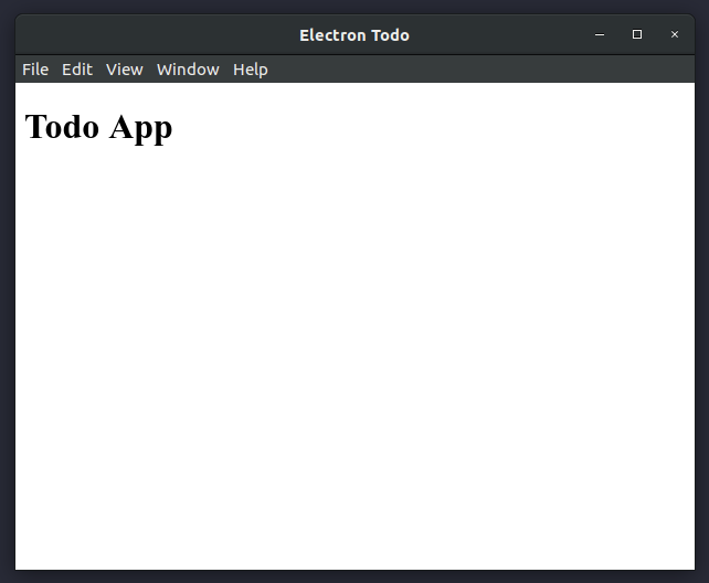 Build a Todo App with Electron - codeburst