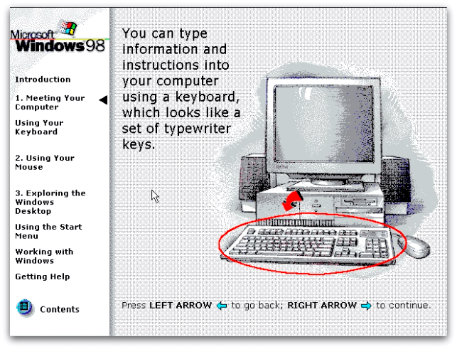 Why Windows 98's User Onboarding is Better Than Yours