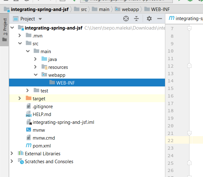 Integrating Spring Boot with Java Server Faces using JoinFaces