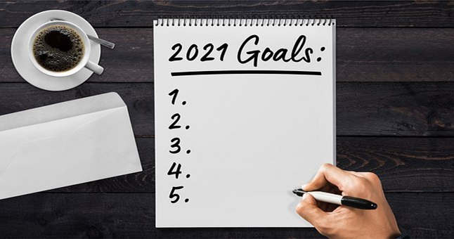 set your goals at the beginning of the year to live your life to the fullest, and to achieve big in your life.