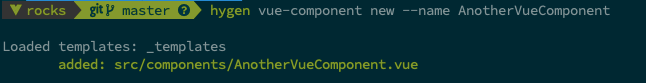 Create a new component dynamic with a name