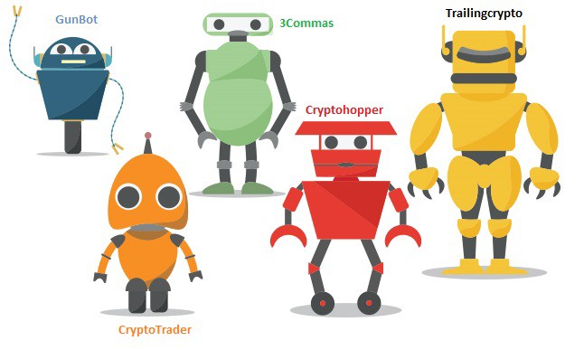Top crypto trading bots bittrex, binance and other popular exchanges