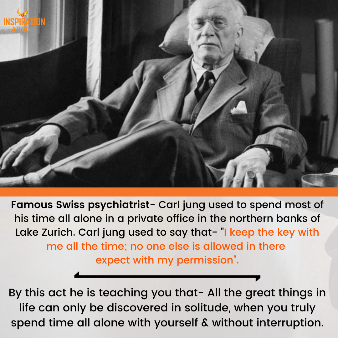 Carl Jung On Solitude
