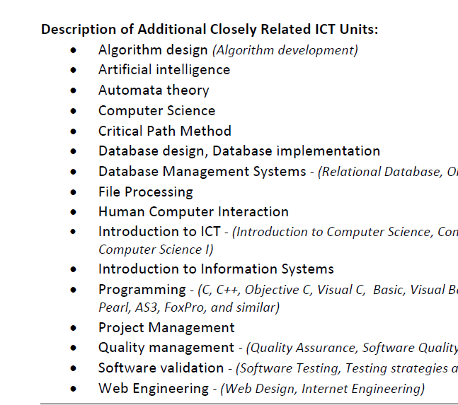Data Science is not in the SOL List  Will I still be