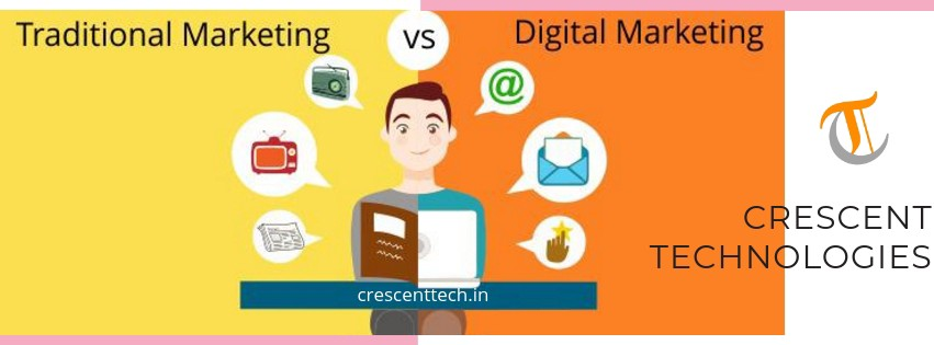Digital marketing or traditional marketing – what works the best.