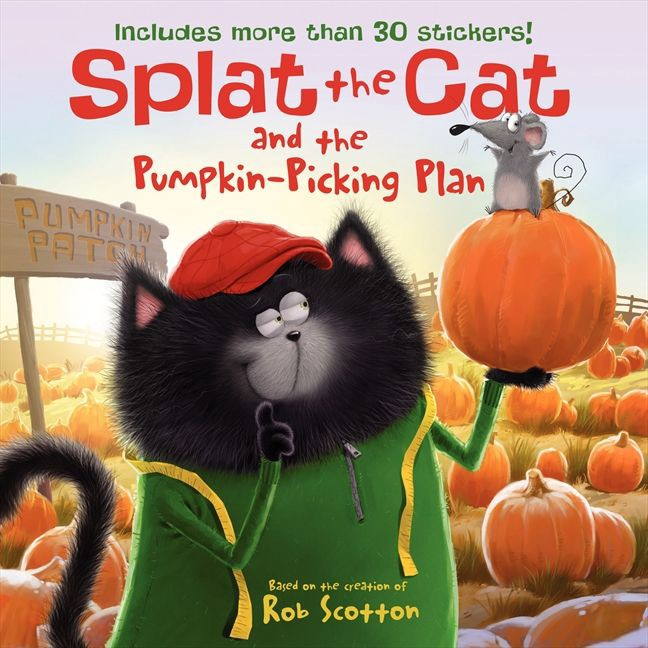 splat the cat and the pumpkin-picking plan by rob scotton