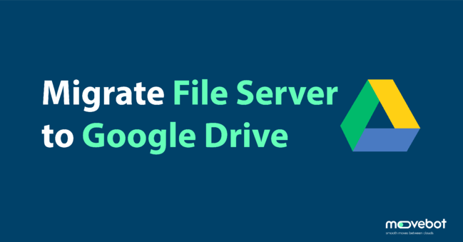 migrate local server to google drive