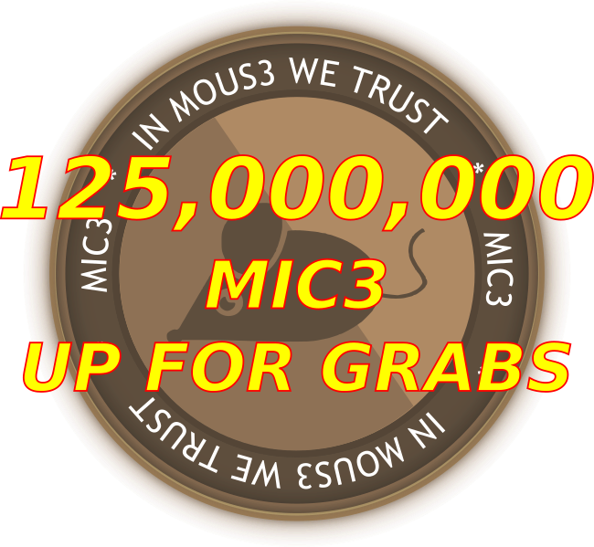 125,000,000 MIC3 IS UP FOR GRABS!!