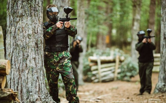 What Is Paintball at a Glance - Blades and Triggers - Medium
