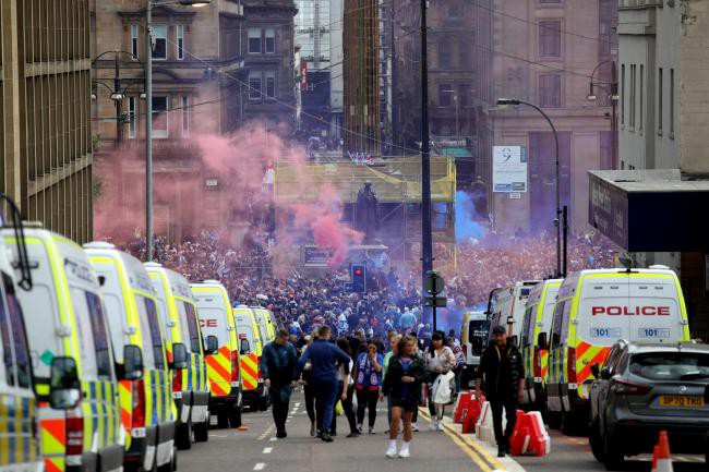 Police Scotland officer fined after attending Rangers fan riots in Glasgow