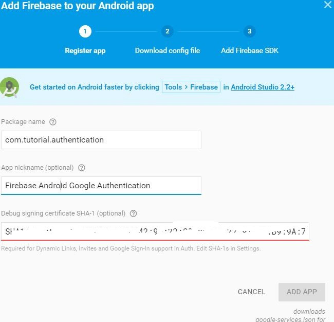 Android Firebase Authentication with Google SignIn - AndroidPub