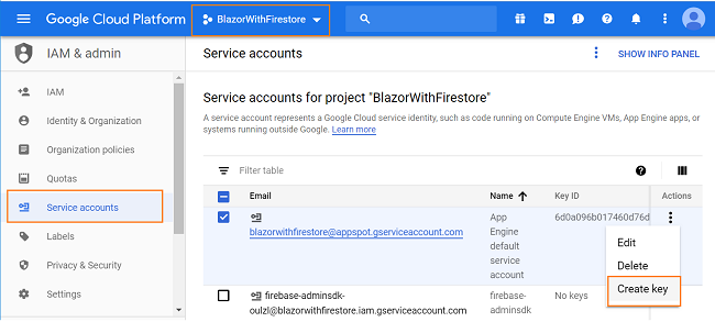 How to perform CRUD operations using Blazor and Google Cloud Firestore