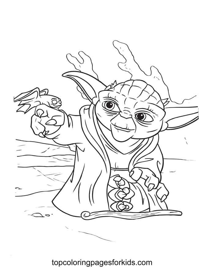 13 Free Printable Baby Yoda Coloring Pages For Kids By Topcoloringpagesforkids Medium