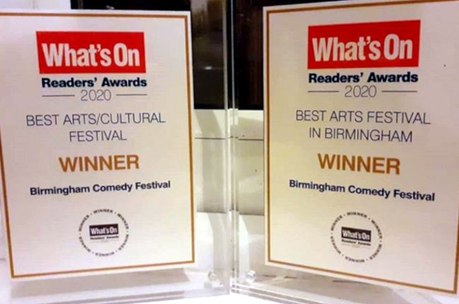 Two What's On Readers' Awards.