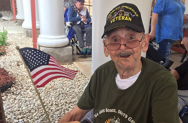 Memorial Day Ceremonies at Texas State Veterans Homes